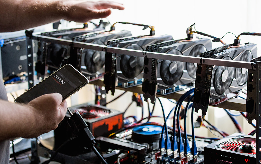 Your own mining hardware