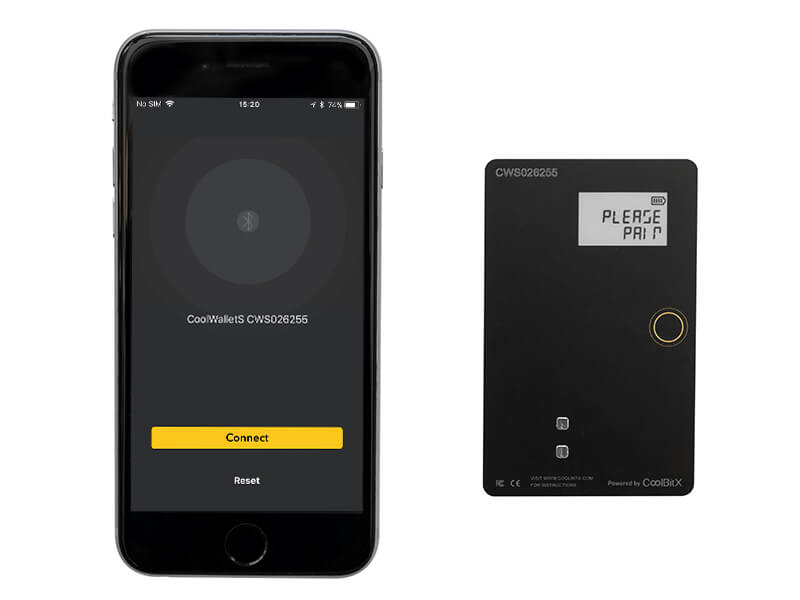 CoolWallet S Phone App